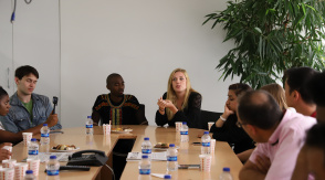 Meeting between Daily Sabah and U.S. Students
