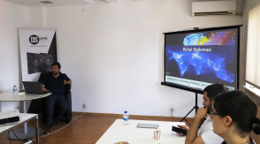 Presentation on Digital Diplomacy Given by Gökhan Yücel
