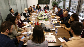 Meeting between Daily Sabah and Kyrgyz Journalists